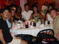 2003 NY DragonBoat After Race Dinner